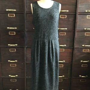 Anthropologie Bordeaux Knit Sleeveless Dress - L